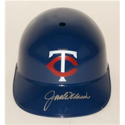 Jack Morris Signed Twins Full-Size Batting Helmet (JSA COA)