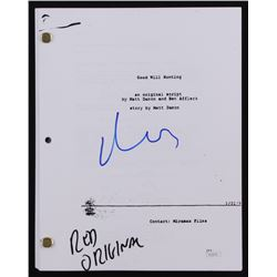 "Matt Damon Signed ""Good Will Hunting"" Full Movie Script (JSA COA)"