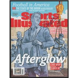 Theo Epstein Signed 2016 Sports Illustrated Magazine (Schwartz COA)