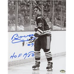 "Bobby Hull Signed Whalers 8x10 Photo Inscribed ""HOF 1983"" (Schwartz COA)"