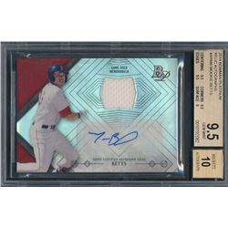 2014 Bowman Platinum Relic Autographs #ARMB Mookie Betts (BGS 9.5)