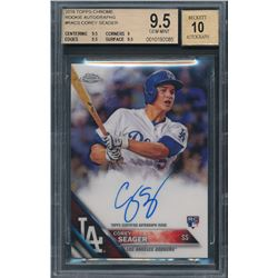 2016 Topps Chrome Rookie Autographs #RACS Corey Seager (BGS 9.5)