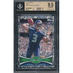 2012 Topps Camo #165 Russell Wilson #177/399 (BGS 9.5)