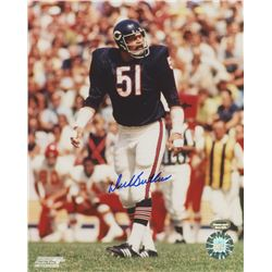 Dick Butkus Signed Bears 8x10 Photo (Schwartz COA)