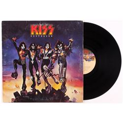 "Ace Frehley Signed KISS ""Destroyer"" Record Album (JSA COA)"