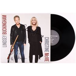 Lindsey Buckingham  Christine McVie Signed Record Album (JSA COA)
