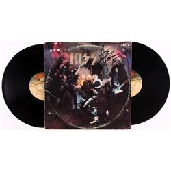 "Ace Frehley Signed KISS ""ALIVE!"" Record Album (JSA COA)"
