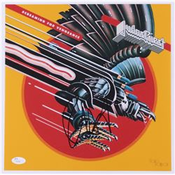 "Rob Halford Signed Judas Priest ""Screaming for Vengeance"" 12x12 Photo (JSA COA)"