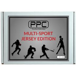 Press Pass Collectibles Multi-Sport Jersey Box - Signed Jersey Mystery Box