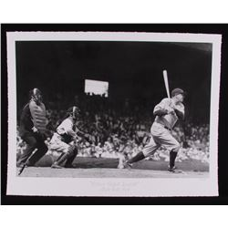 "The Hulton Archive - Babe Ruth ""Picture Perfect Baseball"" Limited Edition 17x22 Fine Art Giclee on P"