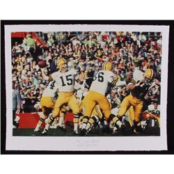 "The Hulton Archive - Bart Starr ""1968 Super Bowl"" Limited Edition 17x22 Fine Art Giclee on Paper #1/"