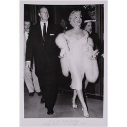 "The Hulton Archive - Marilyn Monroe  Joe DiMaggio ""Mr.  Mrs. Joseph DiMaggio"" Limited Edition 16x23"