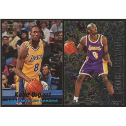 Lot of (2) Kobe Bryant Rookie Cards with 1996-97 Metal #181   1996-97 Stadium Club Rookies 1 #R12