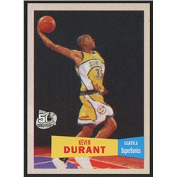 2007-08 Topps 1957-58 Variations #112 Kevin Durant