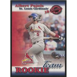 2001 Donruss Class of 2001 Rookie Team #RT5 Albert Pujols