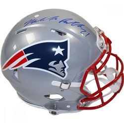 Malcolm Butler Signed Patriots Full-Size Authentic On-Field Speed Helmet (Steiner COA)