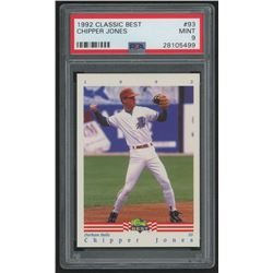1992 Classic/Best #93 Chipper Jones (PSA 9)