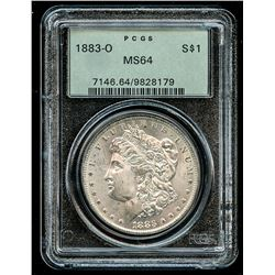 1883-O Morgan Silver Dollar (PCGS MS 64)