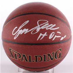 "Dominique Wilkins Signed Basketball Inscribed ""HOF 06"" (Schwartz COA)"