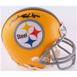 Antonio Brown Signed Steelers Throwback Mini-Helmet (JSA COA)