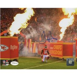 Tyreek Hill Signed Chiefs 8x10 Photo (TSE COA)