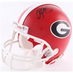 Champ Bailey, Boss Bailey  Ronald Bailey Signed Georgia Bulldogs Mini-Helmet (Radke COA)