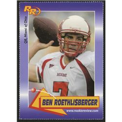 2003 Rookie Review #61 Ben Roethlisberger