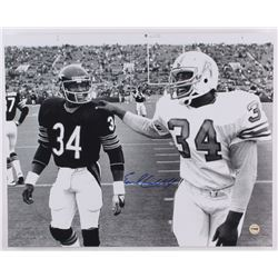 Earl Campbell Signed Oilers 16x20 Photo (Fiterman Sports Hologram)