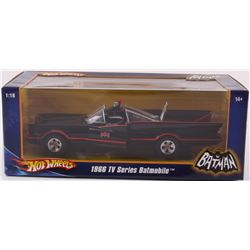 1966 Classic 1:18 Unopened Hot Wheels Batmobile