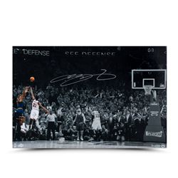 "LeBron James Signed ""Ball Game"" 16x24 Limited Edition Photo (UDA)"