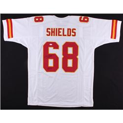 "Will Shields Signed Saints Jersey Inscribed ""HOF 15"" (JSA COA)"