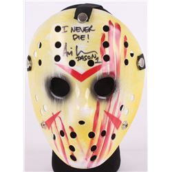 "Ari Lehman Signed Jason ""Friday the 13th"" Hockey Mask Inscribed ""I Never Die!""  ""Jason 1"" (Beckett C"