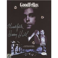 "Henry Hill Signed ""Goodfellas"" 8.5x11 Photo Inscribed ""Goodfella"" (Henry Hill Hologram)"