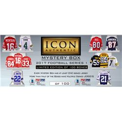 2017 Icon Authentic Jumbo Mystery Box - Football Jersey Series 1