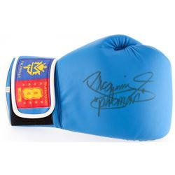 "Manny Pacquiao Signed MP8 Boxing Glove Inscribed ""Pacman"" (Pacquiao COA)"