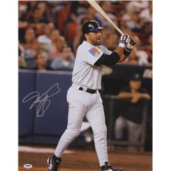 Mike Piazza Signed Mets 16x20 Photo (PSA COA)