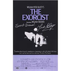 "Linda Blair Signed ""The Exorcist"" 11x17 Photo Inscribed ""Sweet Dreams!"" (Schwartz COA)"