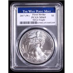 2017-W American Silver Eagle $1 Coin - First Strike (PCGS MS 69)