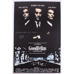 "Ray Liotta Signed ""Goodfellas"" 23.5x36 Photo Inscribed ""I Always Wanted to Be A Gangster"" (Schwartz"