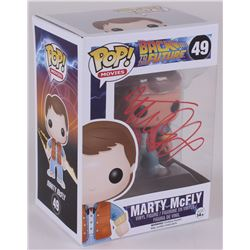 "Michael J. Fox Signed Back To The Future ""Marty McFly"" Funko Pop Figure (JSA COA)"