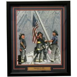 "9/11 ""Never Forget"" 22x27 Custom Framed Photo Display"