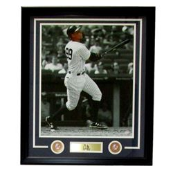 Aaron Judge Yankees 22x27 Custom Framed Photo with Laser Engraved Signature