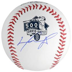 David Ortiz Signed 500 Home Runs Baseball (Fanatics)