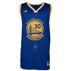 Stephen Curry Signed Warriors Jersey (Fanatics)