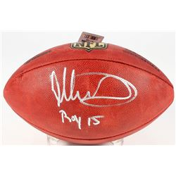 "Todd Gurley Signed ""The Duke"" Official NFL Game Ball Inscribed ""ROY 15"" (Fanatics)"
