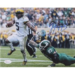 Jabrill Peppers Signed Michigan Wolverines 8x10 Photo (JSA COA)