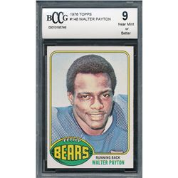 1976 Topps #148 Walter Payton RC (BCCG 9)