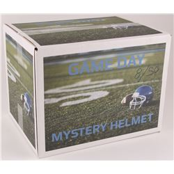 """Game Day"" Mystery Box - Autographed Football Full-Size Helmet Edition"