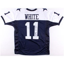 "Danny White Signed Cowboys Jersey Inscribed ""SB XII Champs"" (TSE COA)"