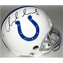 Andrew Luck Signed Colts Full-Size Authentic On-Field Helmet (Panini COA)